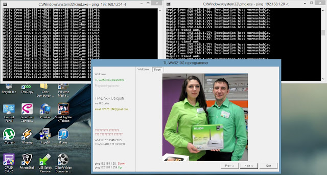 Cara Upgrade TP-Link WA5210G ke airOS Ubiquiti