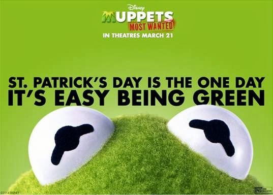 muppets most wanted st pattys day card