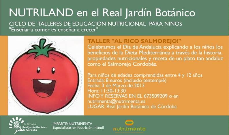 Grupo cultural c rdoba nutrilan en el real jard n bot nico for Biblioteca digital real jardin botanico