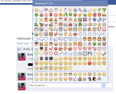 emoticon komentar facebook