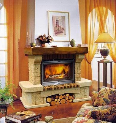 Fotos y dise os de chimeneas fotos de chimeneas clasicas - Decoracion de chimeneas modernas ...