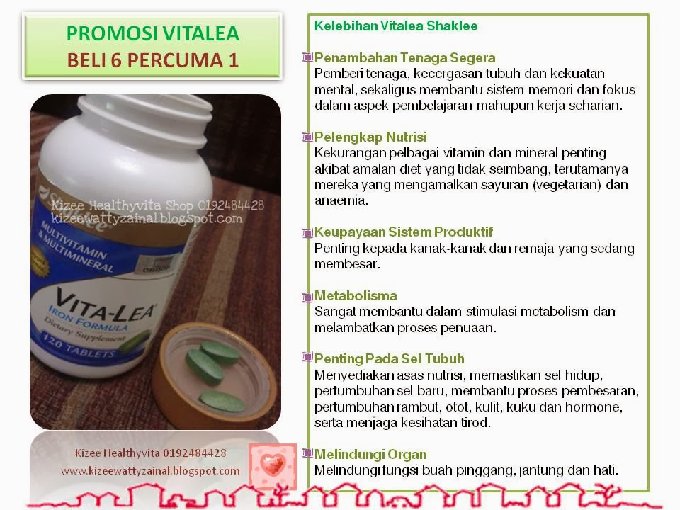 Promosi Hebat Vitalea Feb 2014