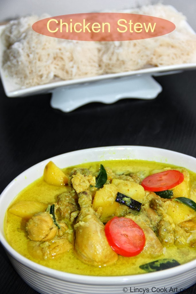 Chicken Stew/ Chicken Stew using Coconut Milk/ Kerala Chicken Stew ...