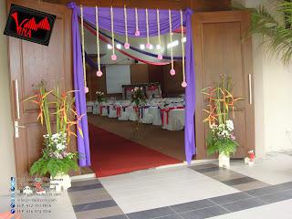 Wedding Dinner at Bukit Kemuning Golf & Country Resort by Vina Canopy & Decor