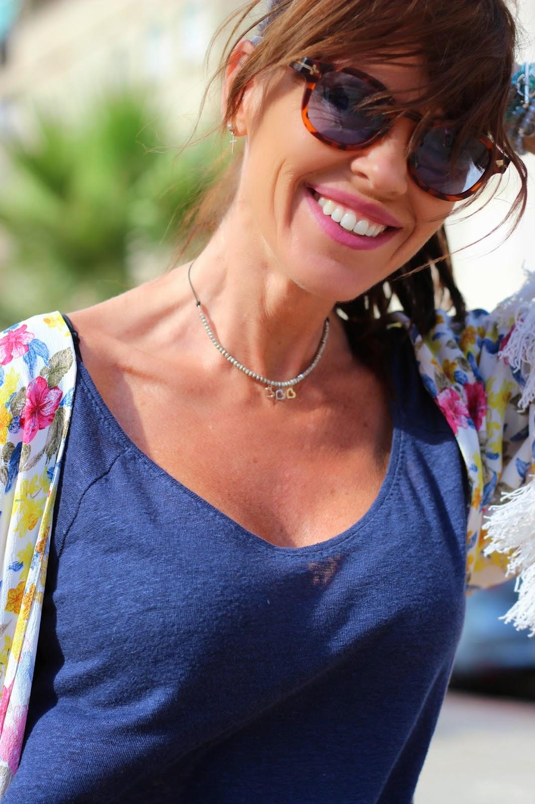 Opposit sunnies - kimono flecos - kimono flores - collar cuchicuchi