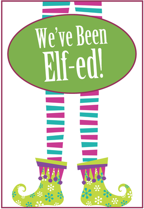 You Been Jingled http://brookiecookies.blogspot.com/2011/11/youve-been-elf-ed.html