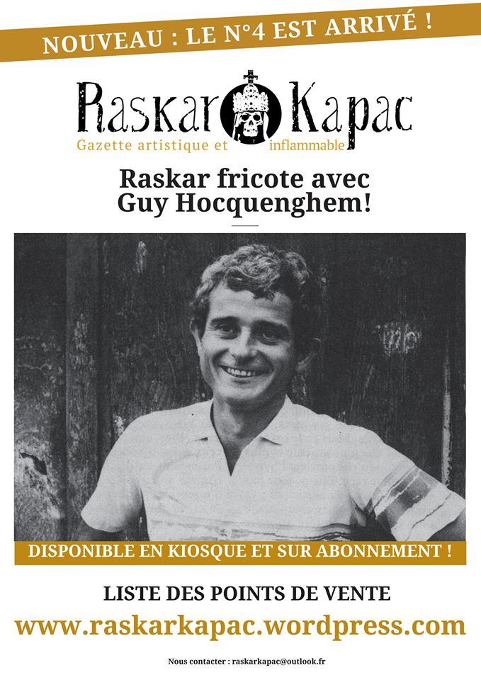 A lire: Le quatrième numéro du magazine Raskar Kapac