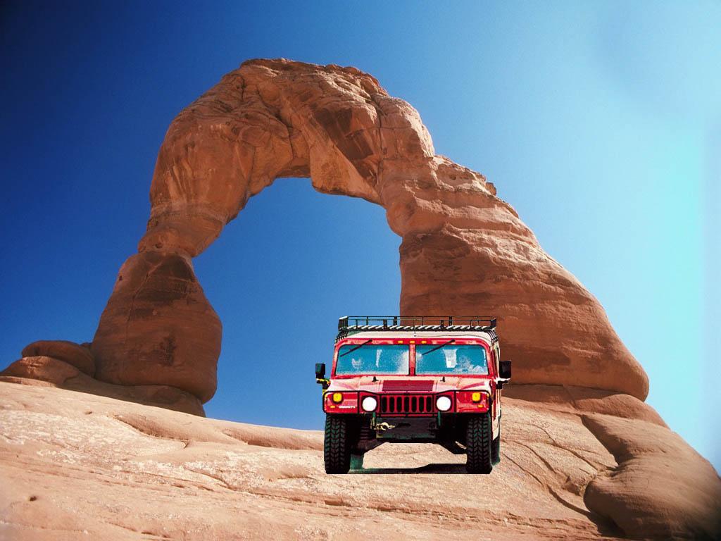 Hummer Car Desert Wallpaper High Definitions Wallpapers