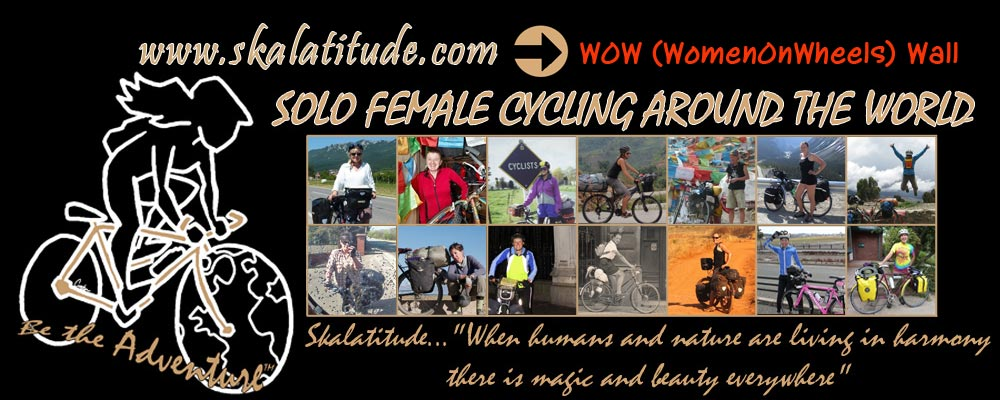 Solo Female Cycling Around the World