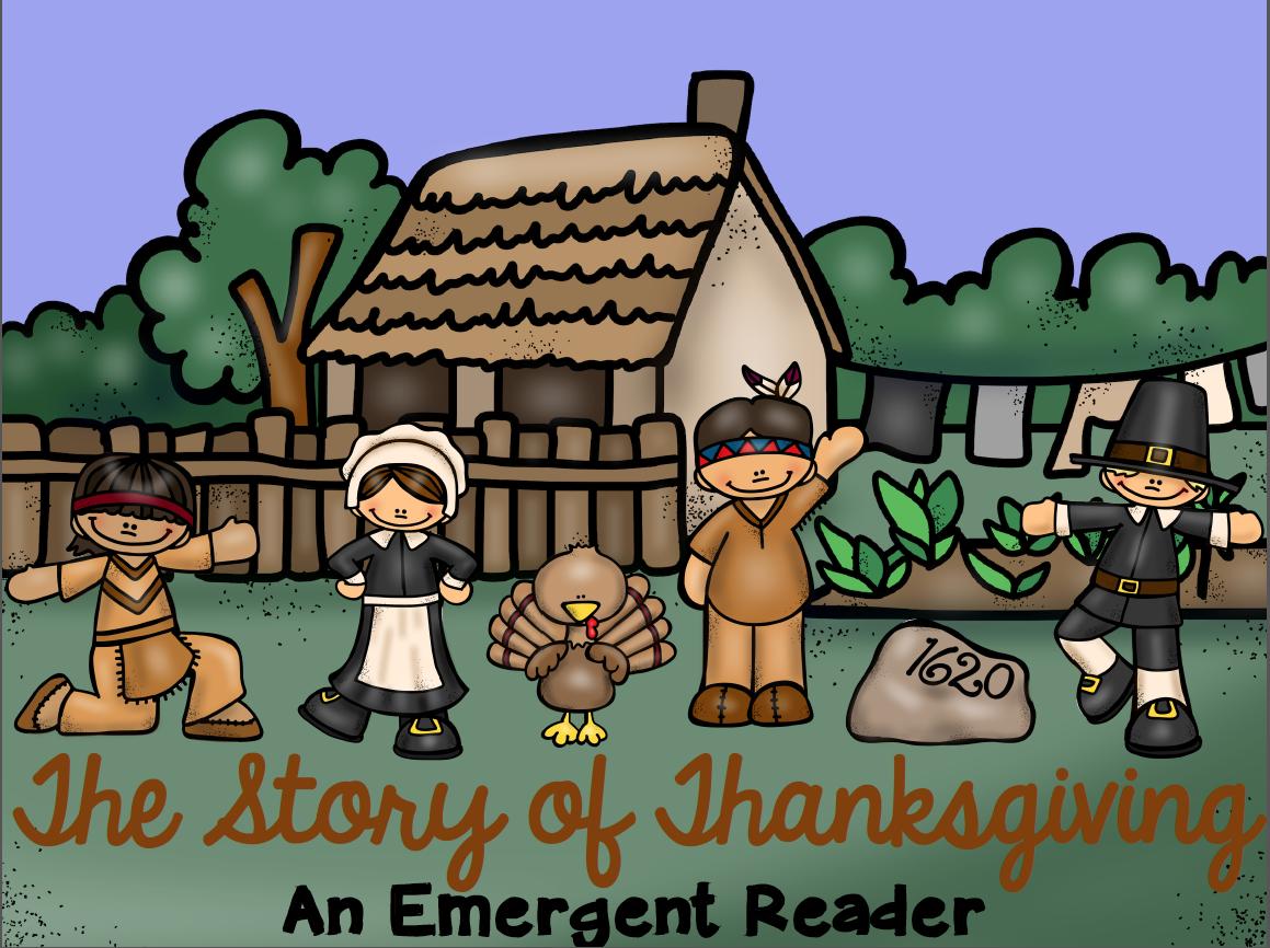 http://www.teacherspayteachers.com/Product/The-Story-of-Thanksgiving-An-Emergent-Reader-400724