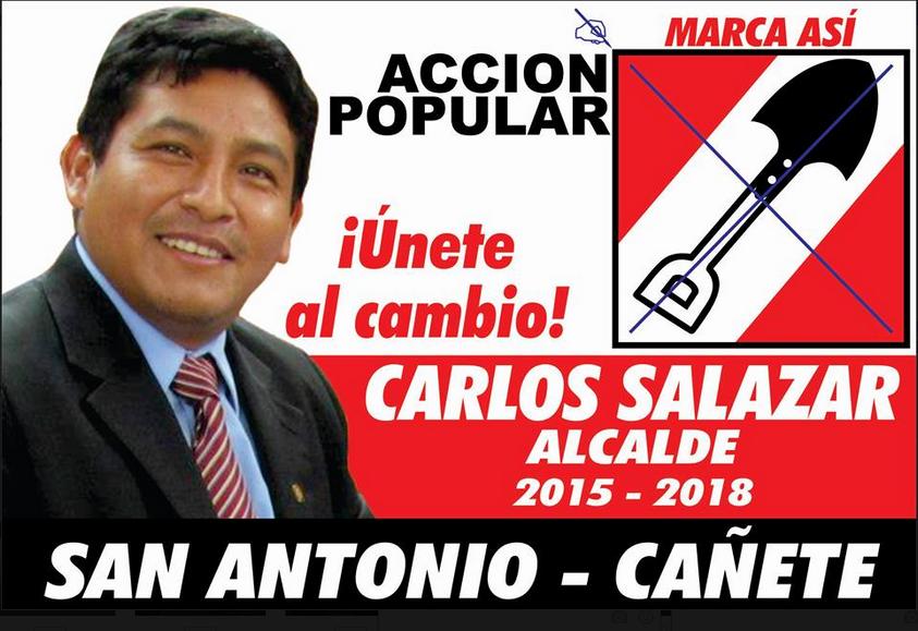 SAN ANTONIO YA TIENE ALCALDE