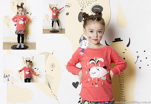 Moda otoño invierno 2015 Haz lo que Quieras indumentaria infantil.