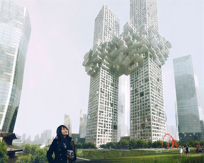 Dutch architect firm sparks outrage with Twin Skyscraper that looks like 9/11 freeze framed