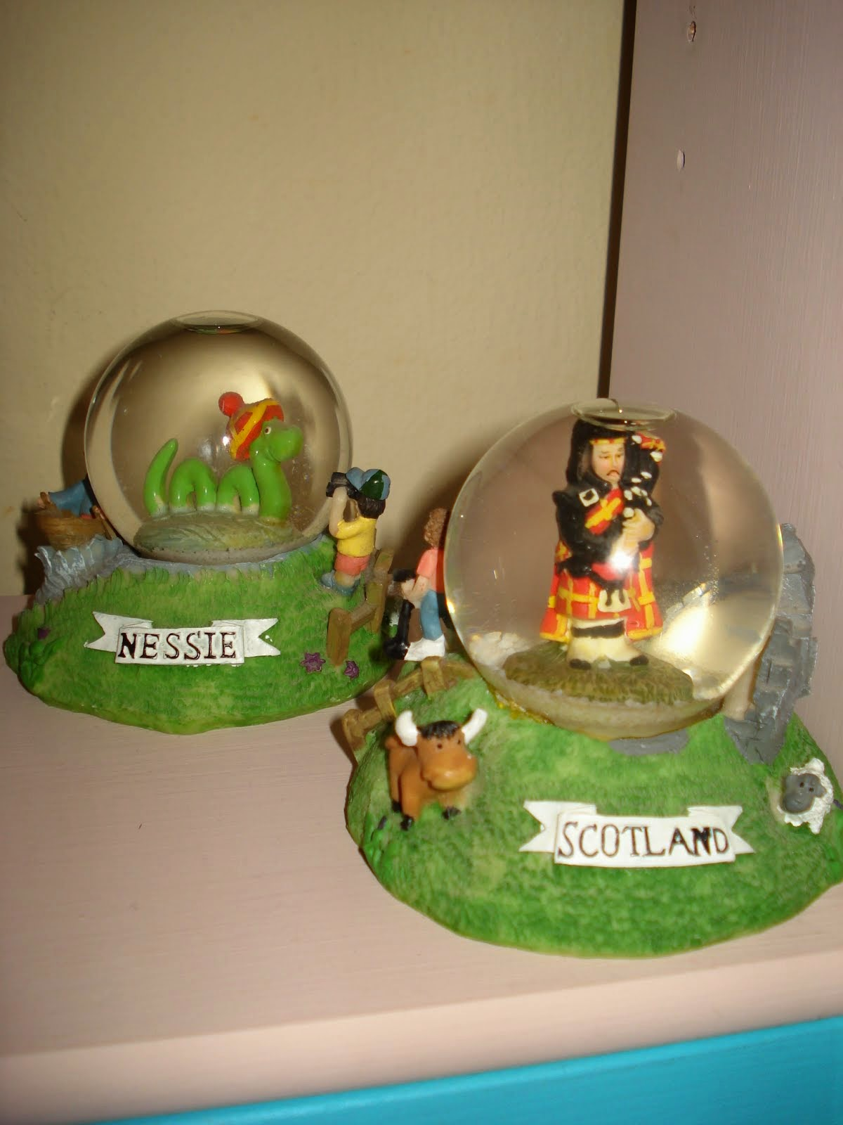 Scotland-Nessie