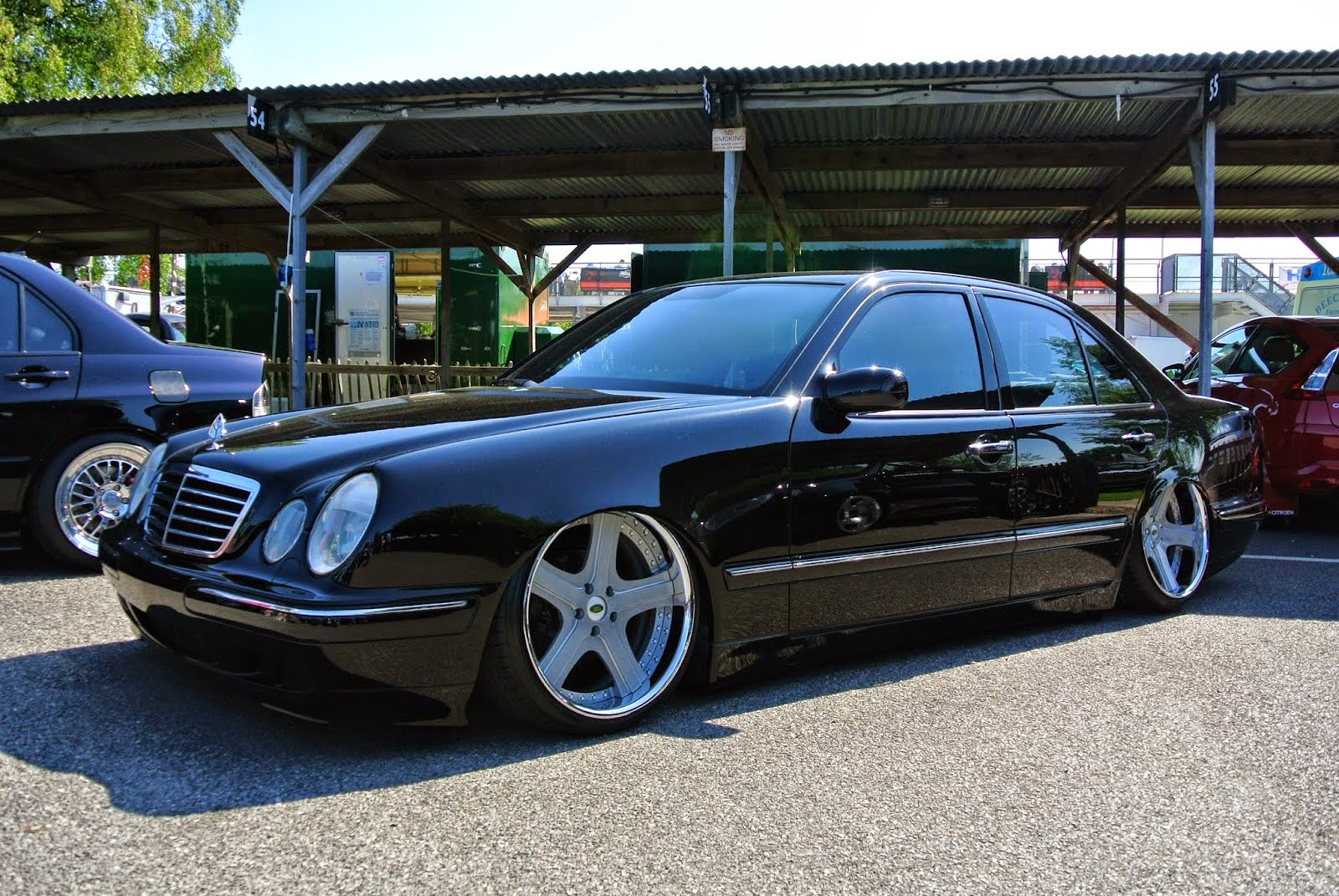 mercedes benz e klasse w210 stance style benztuning. Black Bedroom Furniture Sets. Home Design Ideas