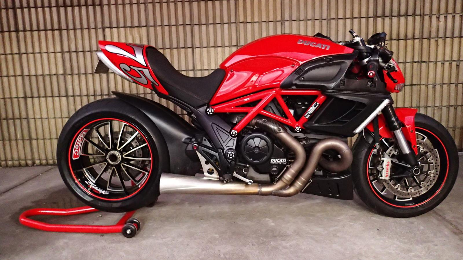 Ducati Drag Bike