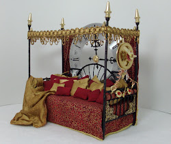 Steampunk Bed (Stops time so you can nap!)