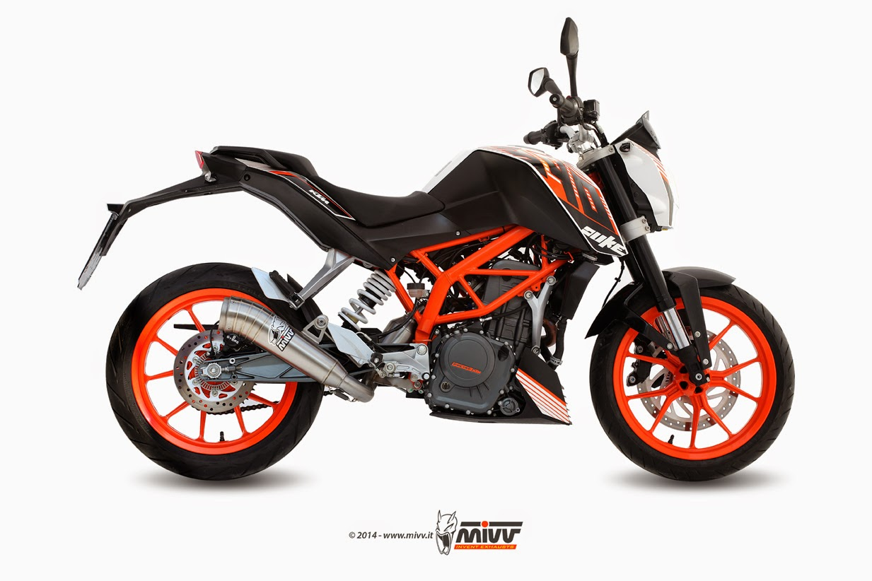 ktm 390 duke india mivv exhaust 39 s for ktm 390. Black Bedroom Furniture Sets. Home Design Ideas
