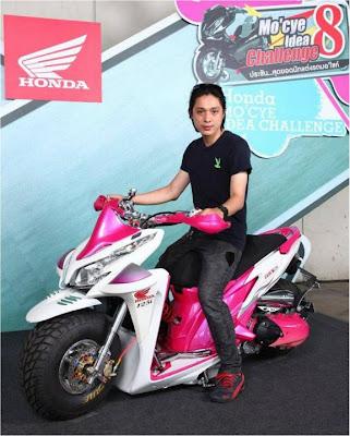 Modif Honda Vario Techno 125-1