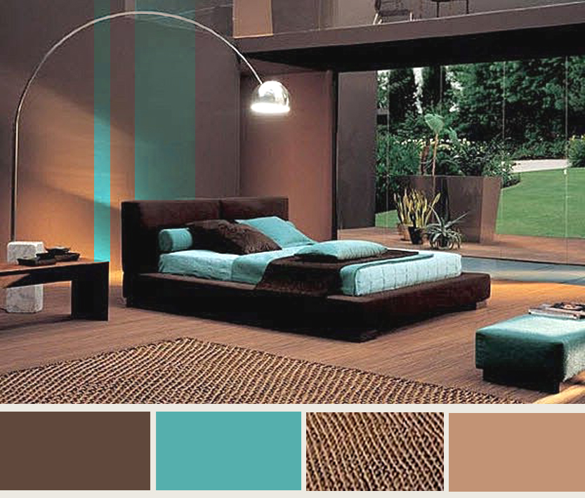 turquoise and brown living room decorating ideas modern house