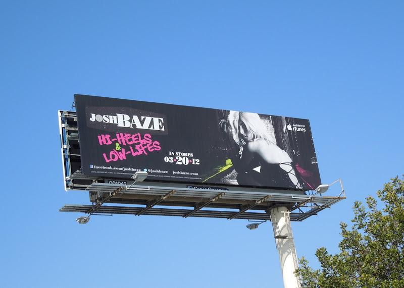 Josh Baze music billboard