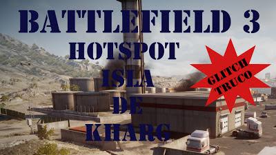 Battlefield 3 Glitch en Isla de Kharg