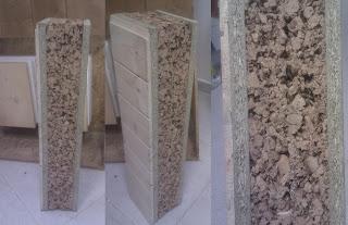 Tejado de madera - aislamiento de corcho natural