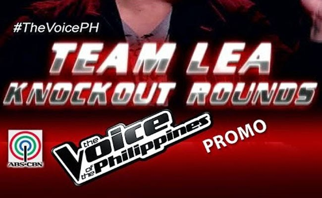 The Voice of the Philippines Season 2 Knock Out Rounds Team Lea's Turn January 11 Video Performances