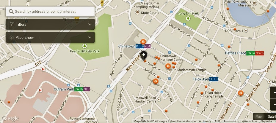 Bath Culture Foot Therapy Singapore Map Tourist Attractions in