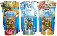 Golden Skylander Figures