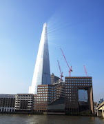 The sun reflecting off of The Shard created this dramatic effect!