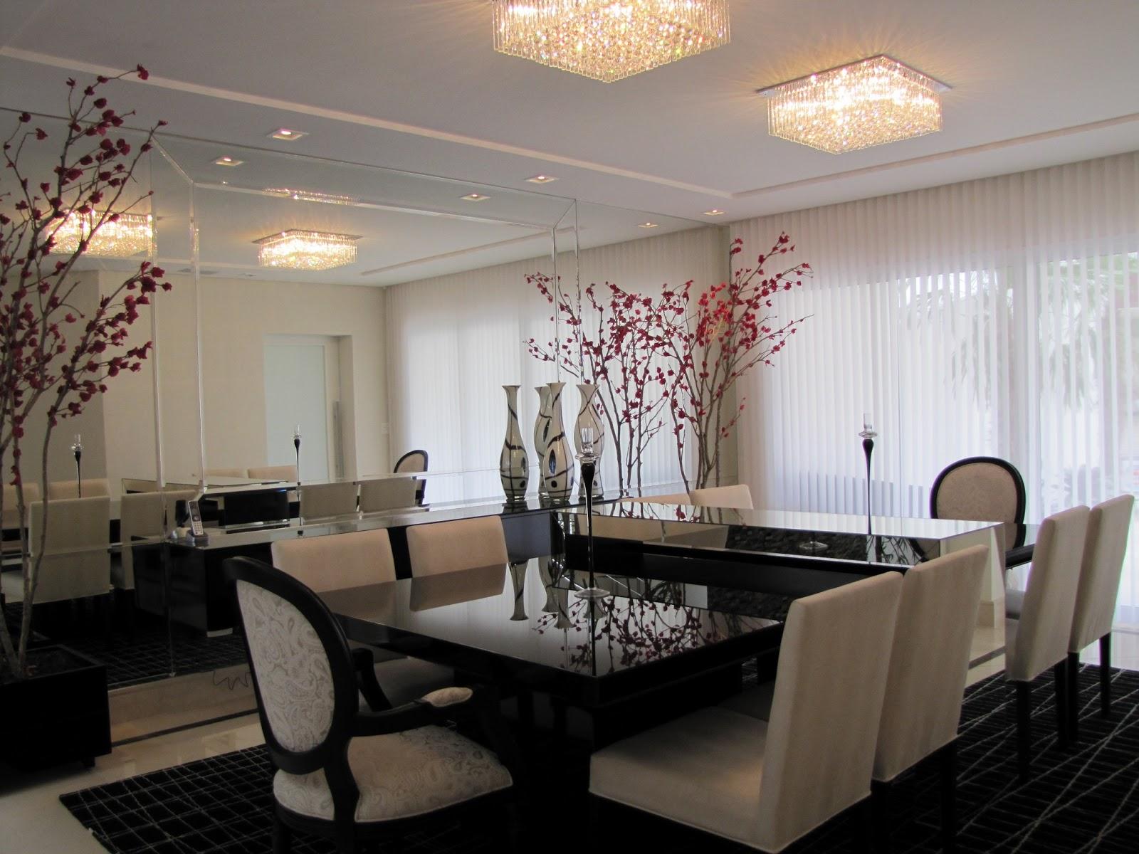 #966835 sala de jantar e estar pequenas no mesmo ambienteIdéias de  1600x1200 píxeis em Decoração De Sala De Estar Com Espelhos