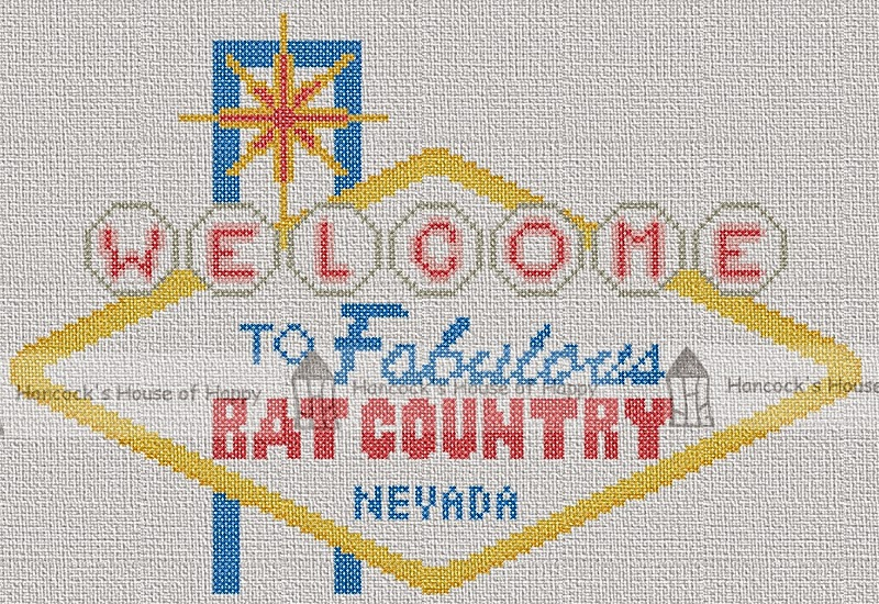 fear and loathing in las vegas cross stitch chart