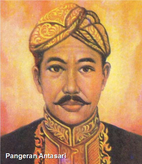 Kemudian muncullah Pangeran Antasari yang menolak campur tangan Belanda. Pangeran Antasari memimpin rakyat Banjar melawan Belanda sejak tahun 1859 – 1862. Ia diangkat oleh rakyat Banjar menjadi sultan. Pasukan Antasari berhasil meledakkan kapal Belanda beserta pasukannya. Perlawanan Antasari terhenti karena sakit. Akhirnya ia meninggal pada tahun 1862.