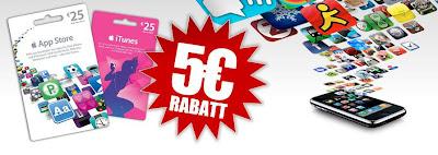 25 Euro-iTunes-Geschenkkarten bei Gamestop für 20 Euro