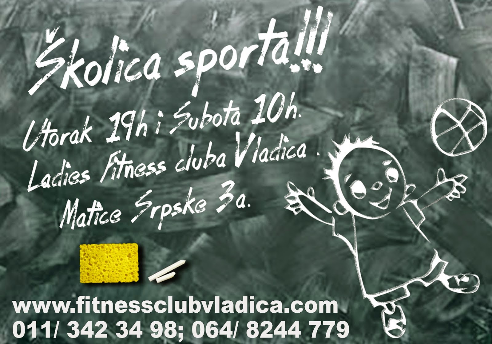 Novo u Ladies Fitness Clubu Vladica