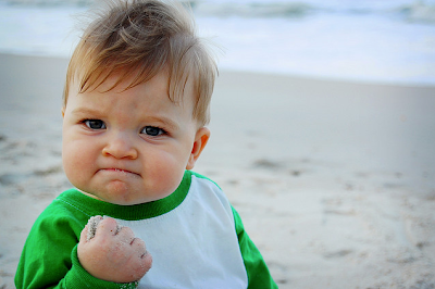 here is another very well known meme called the success kid it is a picture of a little boy with a fist on the beach obvious - Little Kid Pictures