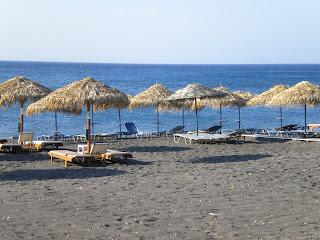 Santorini - Vlyhada as if in a moon landscape - Greece