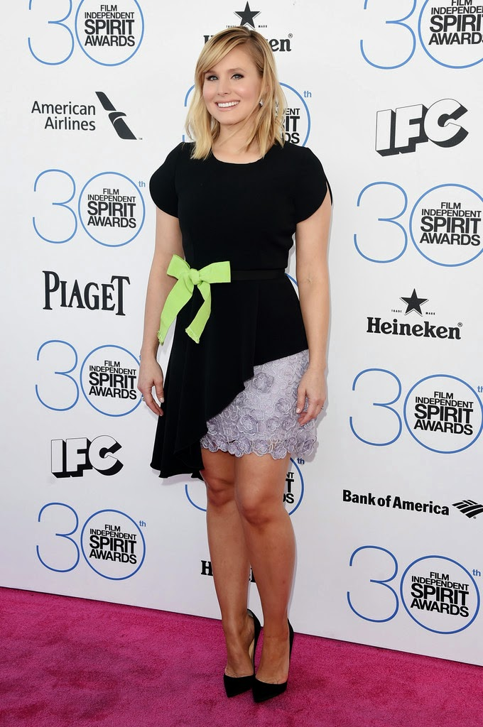 Actress, Singer: Kristen Bell - 2015 Film Independent Spirit Awards in Santa Monica