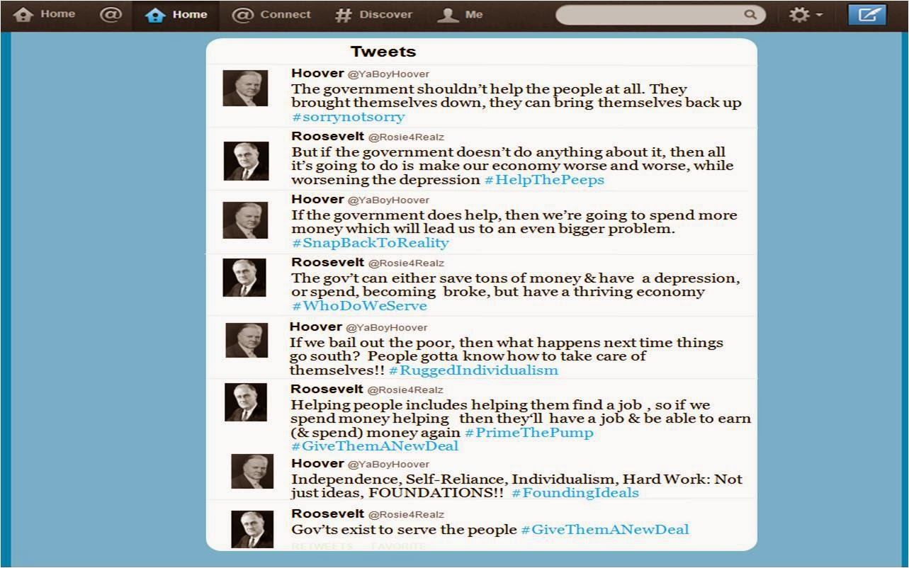Adventures in History Class: Twit for Tat – Simulating a Twitter ...