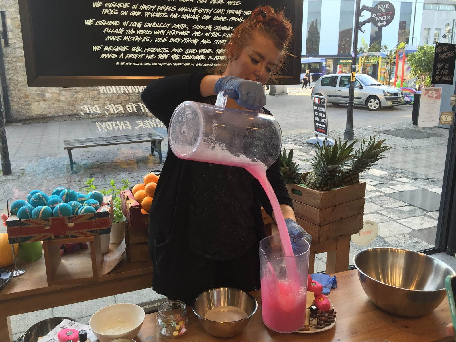 Creamy Candy Bubble Bar Making