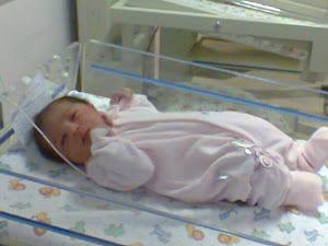 Giulia nasceu dia 26/07 às 12:40 de parto normal...