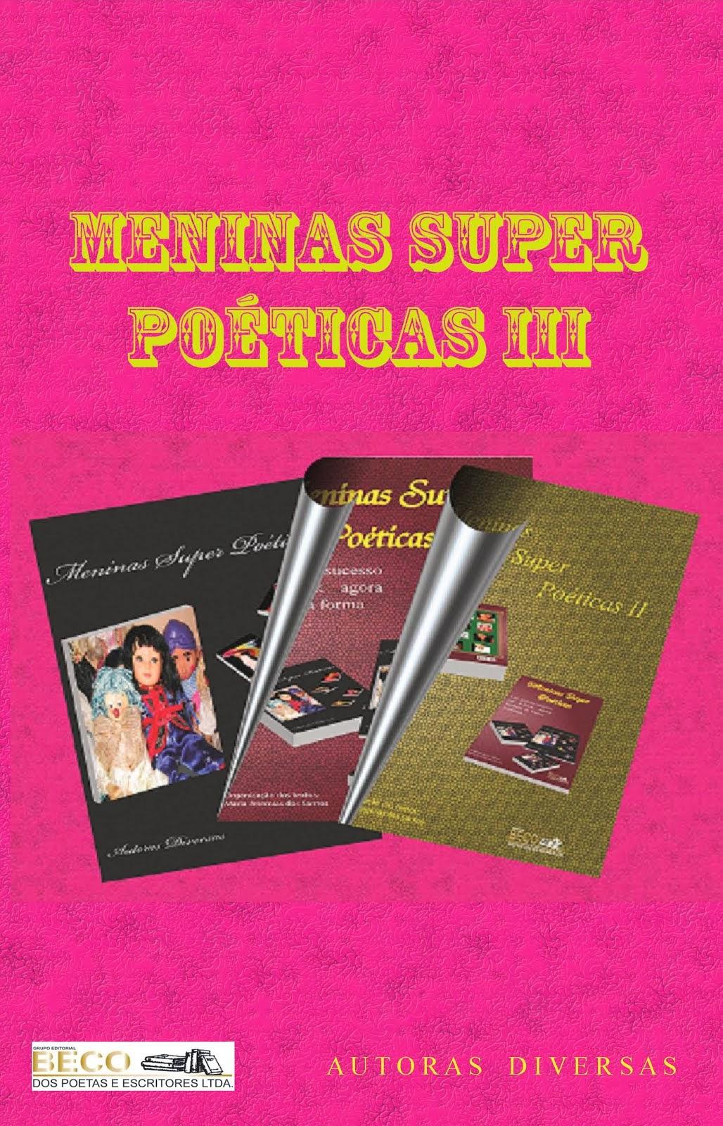 Meninas Super Poéticas Vol..3