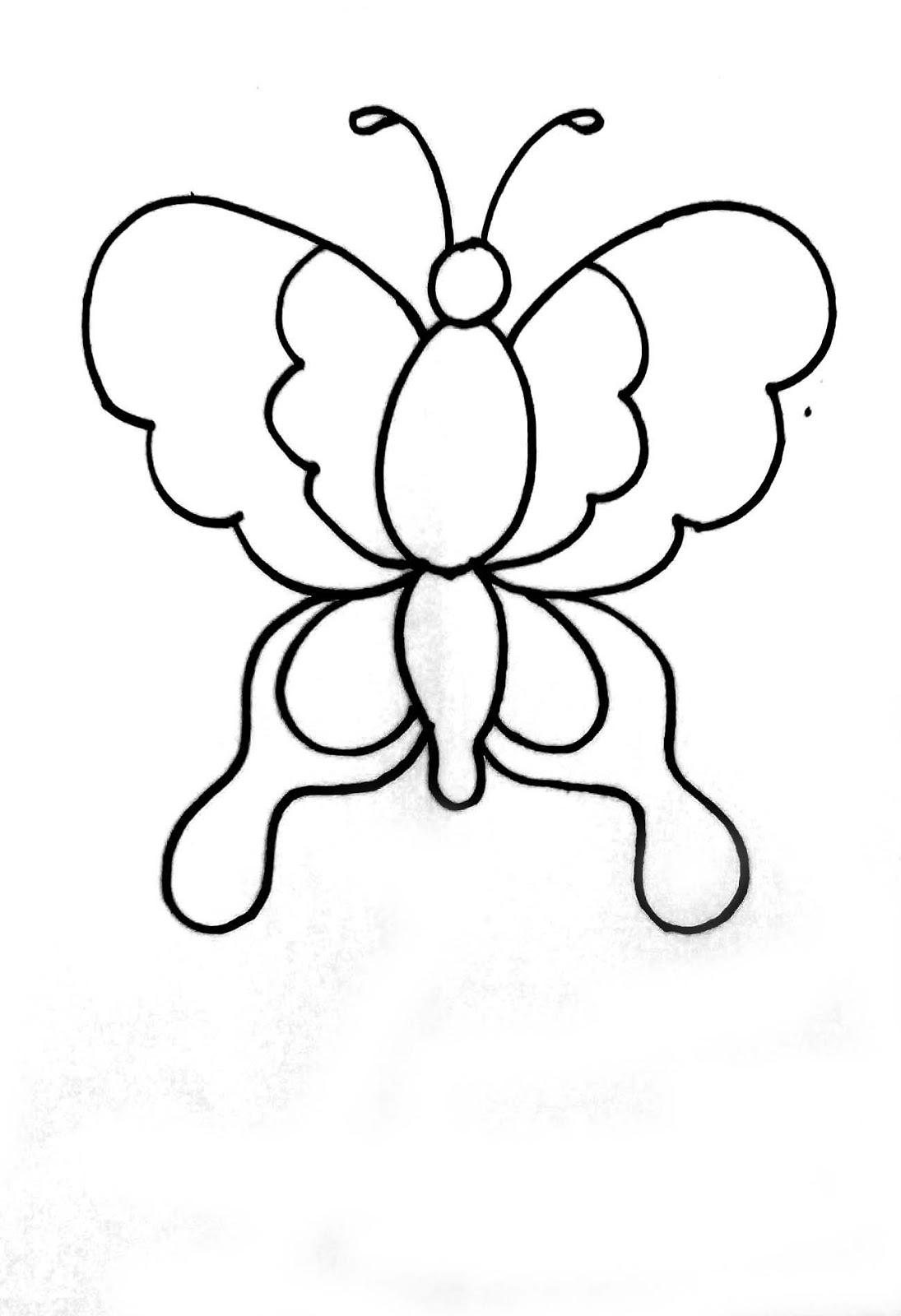 Pada latihan kali ini kita akan mewarnai kupu kupu menggunakan krayon untuk mendapatkan gambarnya Anda bisa menggambarnya sendiri atau menyimpan gambar di