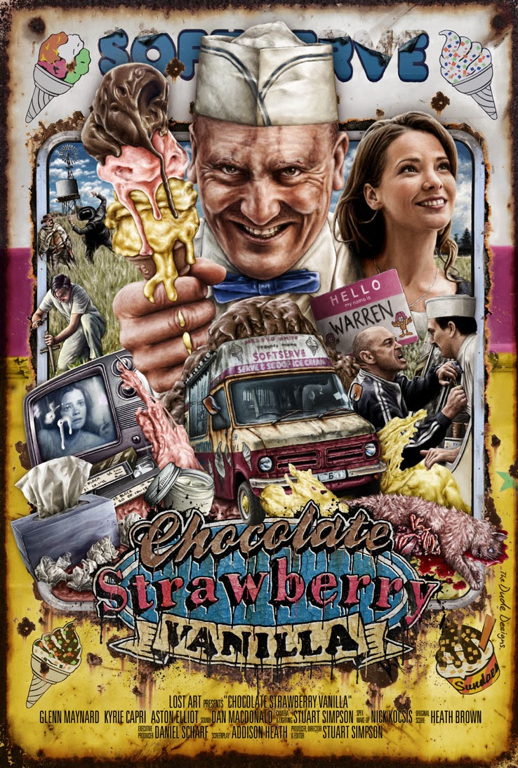 Chocolate Strawberry Vanilla (2013) Poster