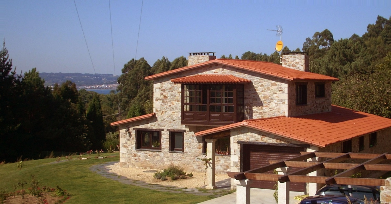 Construcciones r sticas gallegas residencia en piedra - Construccion casas de piedra ...