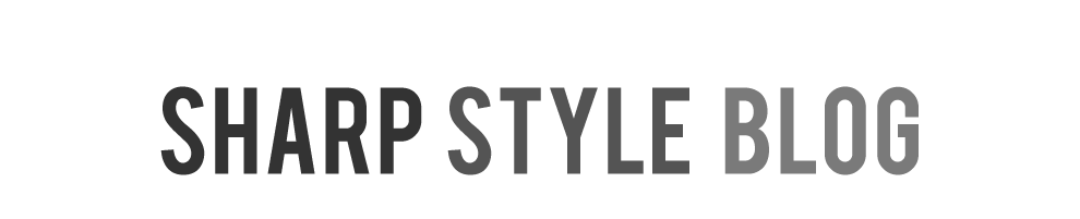 The Sharp Style Blog