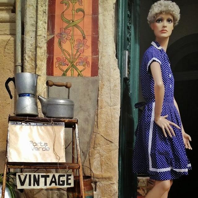 vintage, loja a Porta Verde, Aveiro
