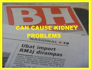 WARNING - Tarikh luput,bungkus semula, penyakit lain selain komplikasi byah pinggang AWAS