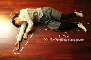 Sherlock Holmes Murder Mystery party by Ida Chan